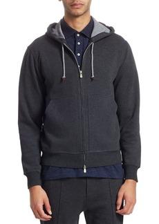Brunello Cucinelli Two-Way Zip Sweatshirt