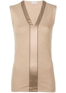 Brunello Cucinelli v-neck blouse