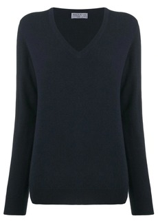 Brunello Cucinelli V-neck knit top