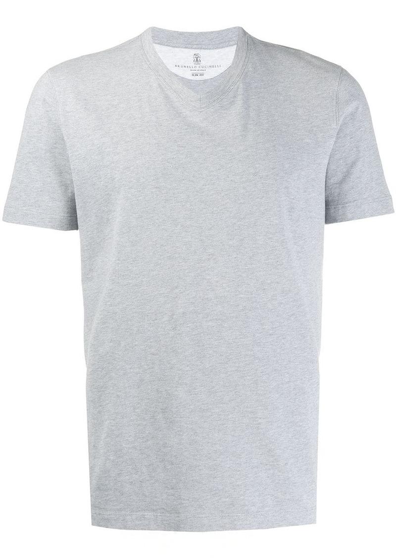Brunello Cucinelli V-neck slim fit T-shirt