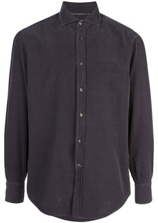 Brunello Cucinelli velour shirt