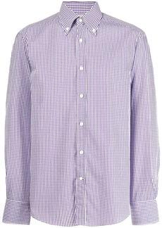 Brunello Cucinelli vichy longsleeved shirt