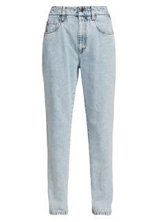 Brunello Cucinelli Vintage Wash Straight-Leg Jeans