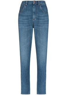 Brunello Cucinelli washed denim jeans