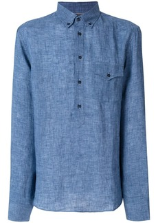 Brunello Cucinelli western pocket longsleeved shirt