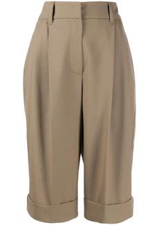 Brunello Cucinelli wide leg tailored shorts