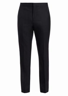 Brunello Cucinelli Wool & Silk Tuxedo Trousers