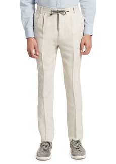 Brunello Cucinelli Wool Drawstring Trousers