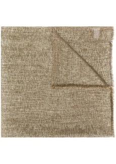 Brunello Cucinelli woven style scarf