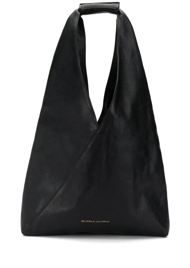 Brunello Cucinelli wrap tote bag