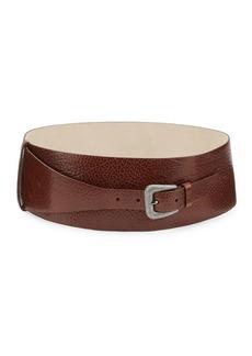 Brunello Cucinelli Wraparound Leather Belt