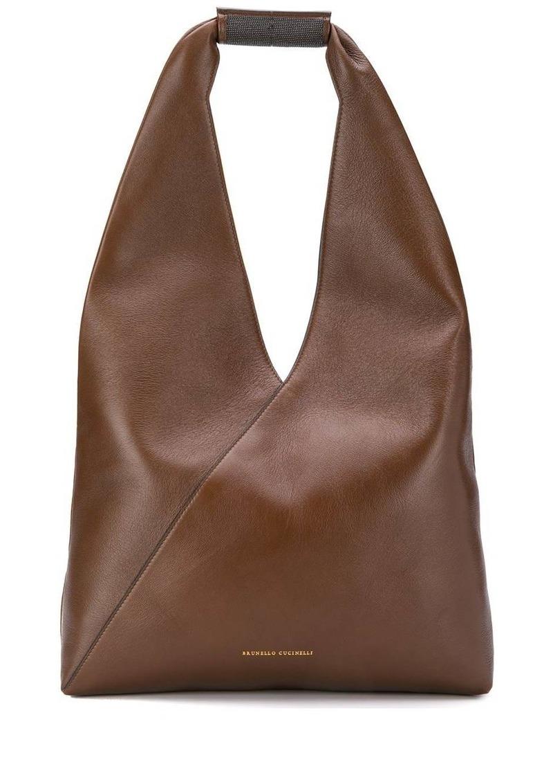 Brunello Cucinelli wrapped tote bag