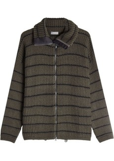 Brunello Cucinelli Zipped Cashmere Jacket
