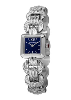 Bruno Magli 20mm Mira Square Watch w/ Bracelet Strap