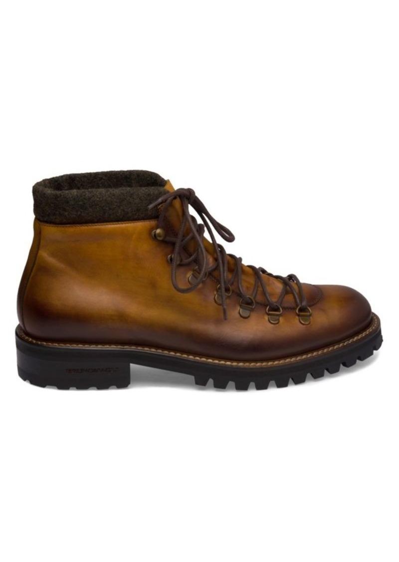Bruno Magli Alpino Leather Hiking Boots