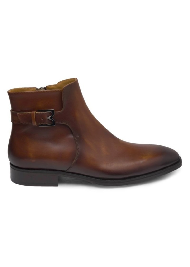 Bruno Magli Angiolini Leather Ankle Boots