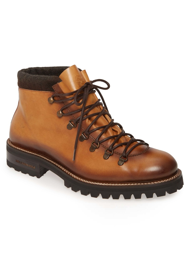 Bruno Magli Alpino Mid Plain Toe Boot (Men)