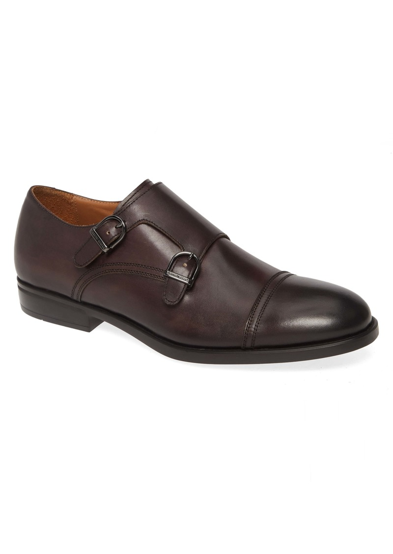 Bruno Magli Barone Double Monk Strap Shoe (Men)