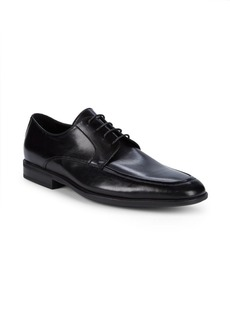Bruno Magli Famoso Leather Derby Shoes