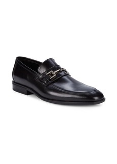 Bruno Magli Favelli Buckle Leather Loafers