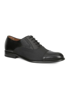 Bruno Magli Gino Leather Cap Toe Oxfords