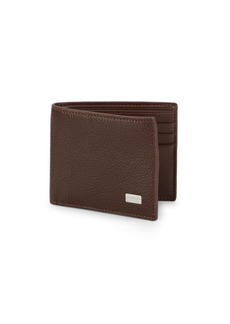 Bruno Magli Leather Bi-Fold Wallet