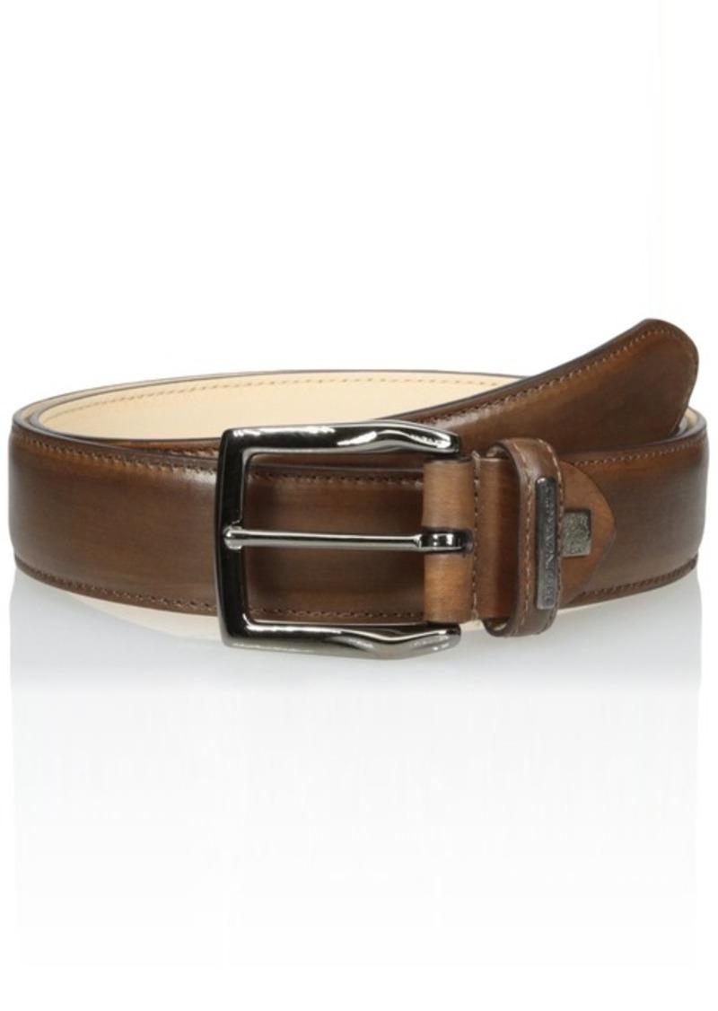 Bruno Magli Men's Burnished Leather Belt