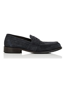Bruno Magli Men's Canelo Suede Penny Loafers
