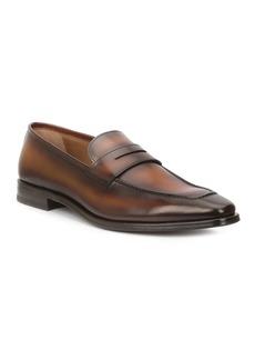 Bruno Magli Men's Corrado Burnished Leather Penny Loafers