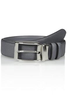 Bruno Magli Men's Neoclassico Belt Grey