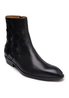 Bruno Magli Men's Riccardo Woven Leather Boots