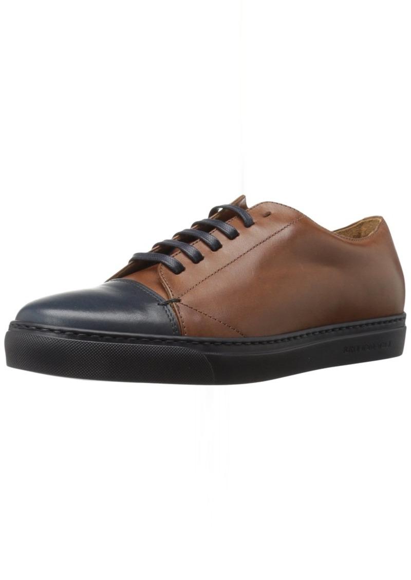 Bruno Magli Men's Vento Fashion Sneaker Cognac/NVY  M US