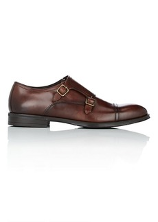 Bruno Magli Men's Zenda Leather Double-Monk-Strap Shoes