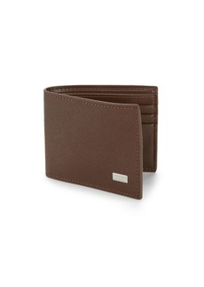 Bruno Magli Neo Classico Leather Bi-Fold Wallet