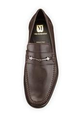 Bruno Magli Pittore Leather Horsebit Loafer