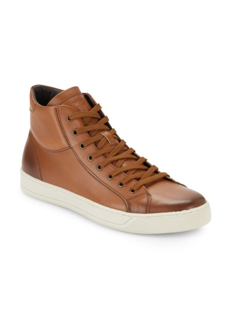 4800fa94305 On Sale today! Bruno Magli Bruno Magli Will Leather High-Top Sneakers
