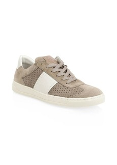 Bruno Magli Dario Lace-Up Suede Sneakers