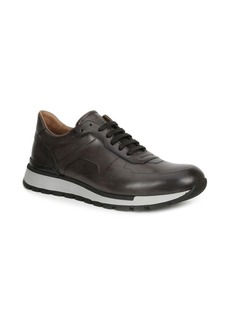 Bruno Magli Davio Polished Leather Sneakers
