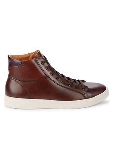 Bruno Magli Diaz High-Top Leather Sneakers