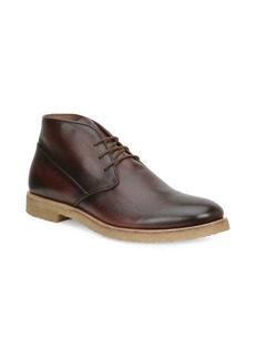 Bruno Magli Principe Leather Chukka Boots
