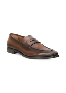Bruno Magli Leather Penny Loafers