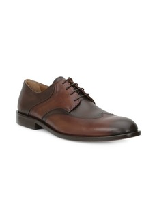 Bruno Magli Leather Wingtip Dress Shoes