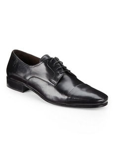Bruno Magli Martico Leather Cap-Toe Dress Shoes