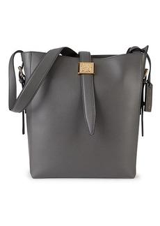 Bruno Magli Medium Textured Leather Bucket Bag