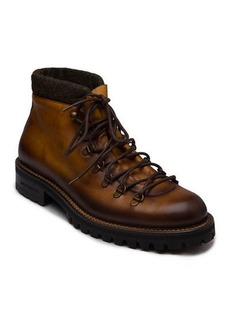 Bruno Magli Men's Alpino Lace-Up Leather Ankle Boots