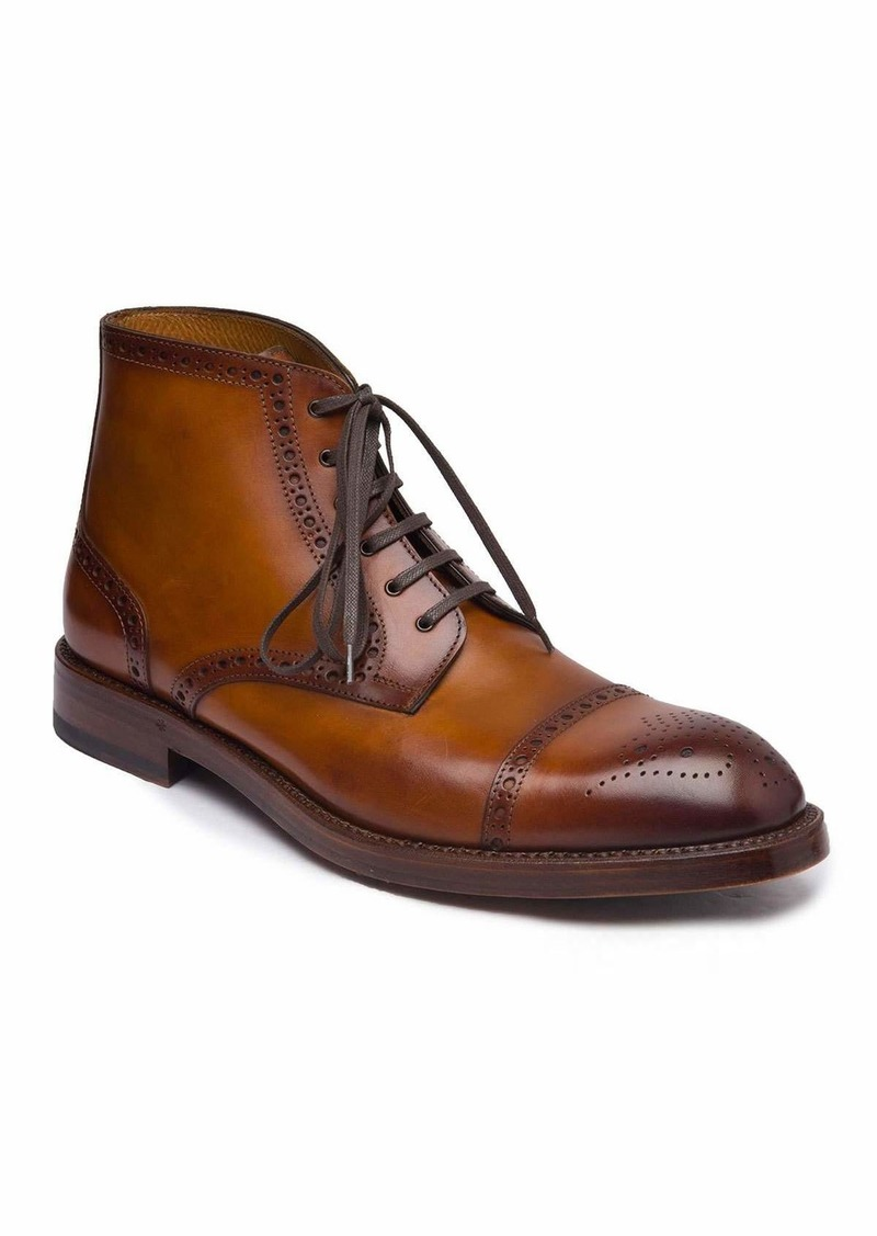 Bruno Magli Men's Octavio Brogue Leather Boots