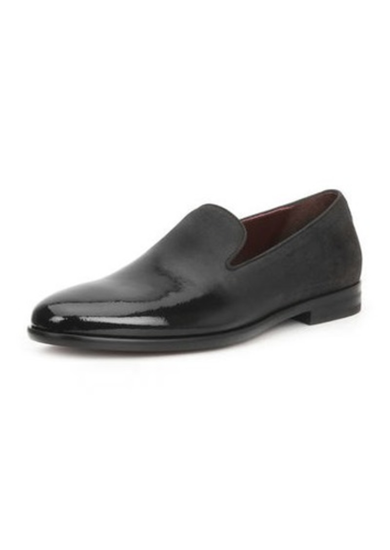Bruno Magli Men's Picasso Damask-Velvet Loafers