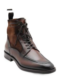 Bruno Magli Men's Savino Suede/Leather Derby Boots