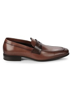Bruno Magli Mineo Leather Penny Loafers