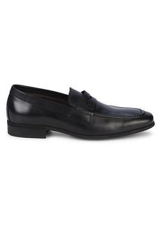 Bruno Magli Mirko Leather Penny Loafers
